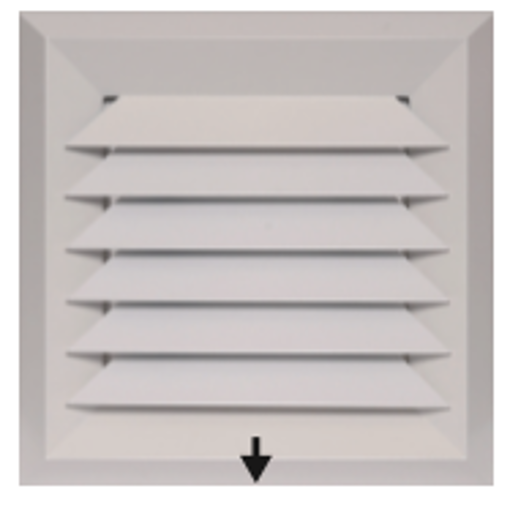 Picture of Bevelled Edge 1-Way Blow Diffuser