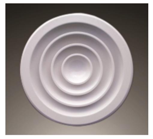 图片 Round Aluminium Ceiling Diffuser
